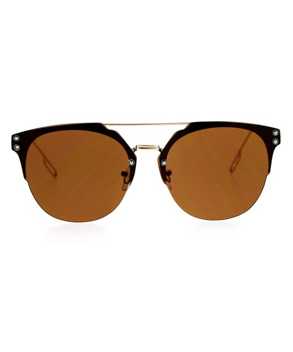 SA106 Rimless Style Hipster Sunglasses