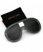 ROYAL GIRL Oversized Sunglasses Vintage