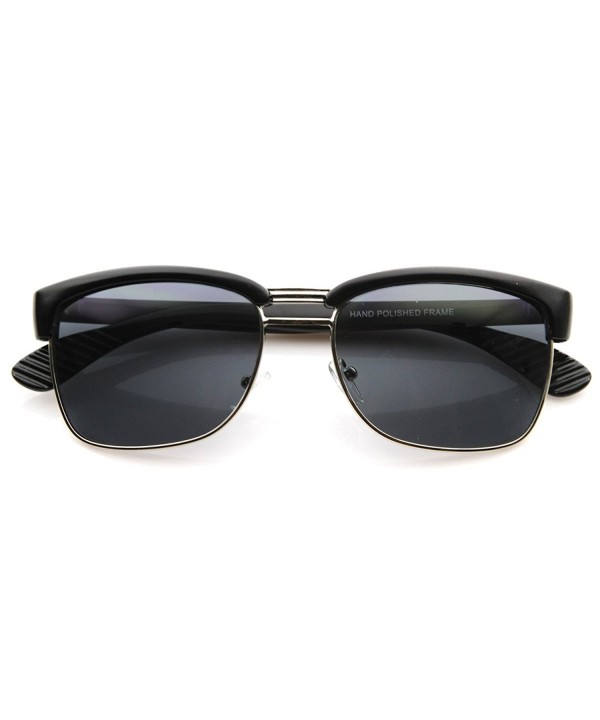 zeroUV Designer Inspired Rimless Sunglasses