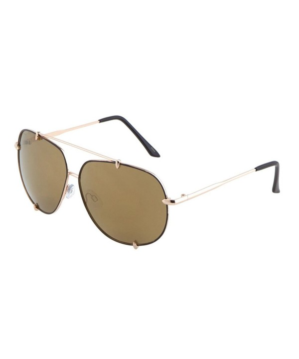 Oversized Aviator Sunglasses Eyewear MJ1523 Gold