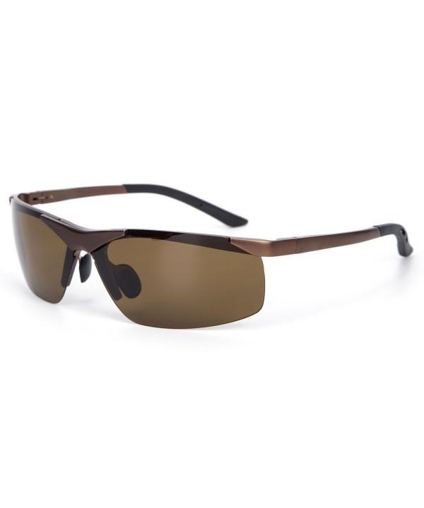 YJMILL Aluminum magnesium Polarized Sunglasses