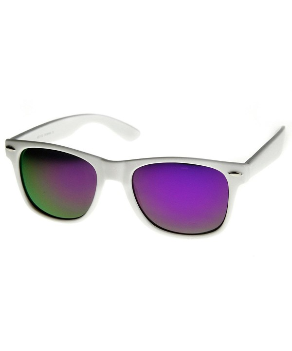 zeroUV Hipster Fashion Mirror Sunglasses