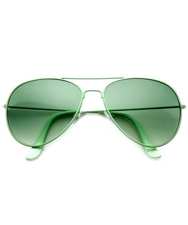zeroUV Classic Tearddrop Aviator Sunglasses
