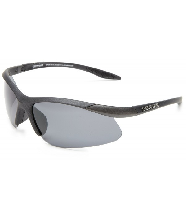 PEPPERS Ricochet Shield Sunglasses Black