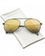 WearMe Pro Bridgeless Aviator Sunglasses