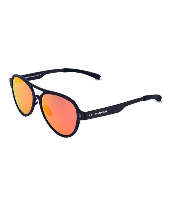 Blasses Mirrored Sunglasses Polarized protection