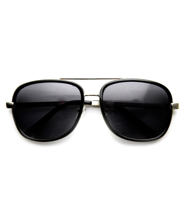 zeroUV Fashion Studio Sunglasses Black Silver