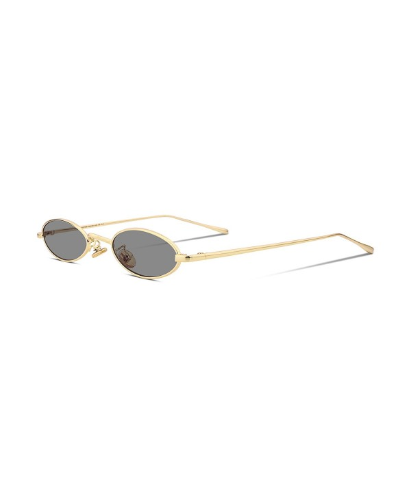 FEISEDY Vintage Slender Sunglasses Colors