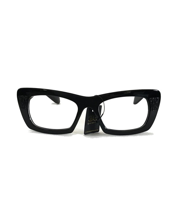 Womens Square Frame Clear Fashion