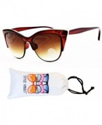 WM3024 VP Style Vault Sunglasses Gold Brown