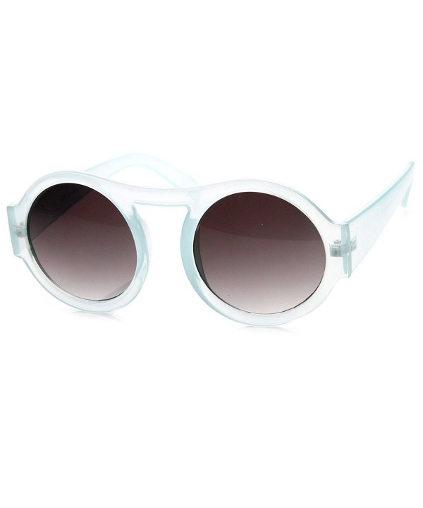 zeroUV Circle Pastel Oversized Sunglasses