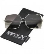zeroUV Oversize Gradient Sunglasses Lavender