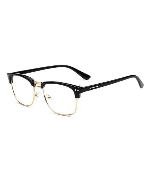 LOMOL Personality Student Transparent Glasses