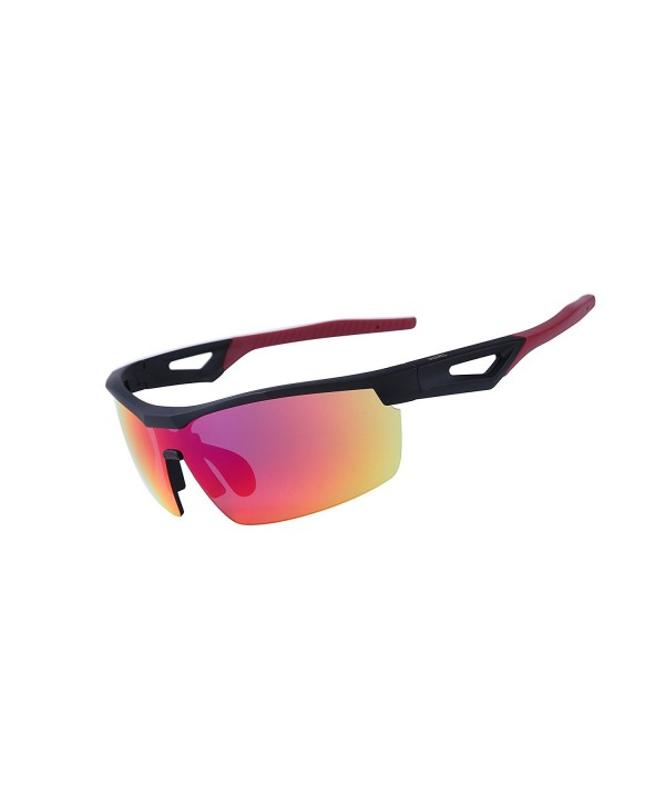 ULLERES Sports Sunglasses Mirrored Glasses