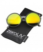 zeroUV Oversize Transparent Colored Sunglasses