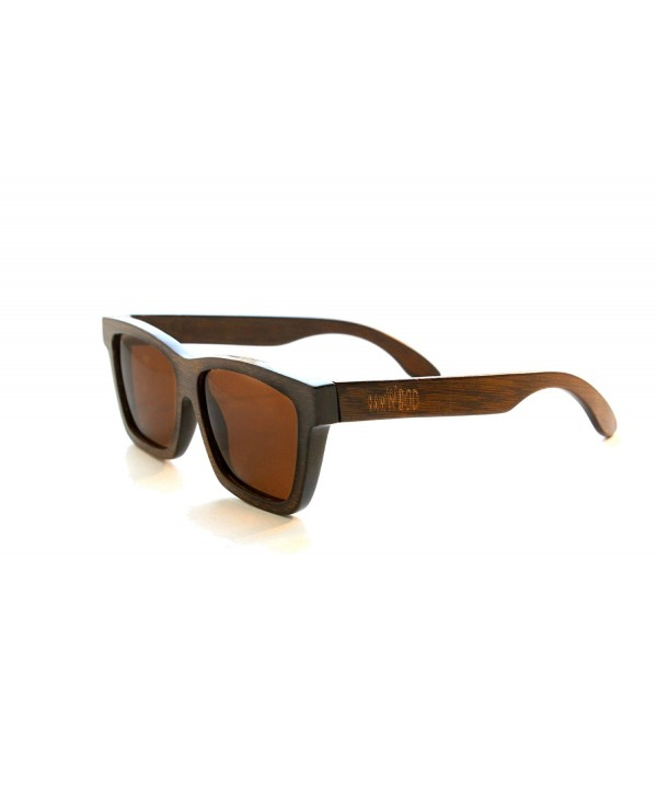 RawWood Cruisers Polarized Bamboo Sunglasses
