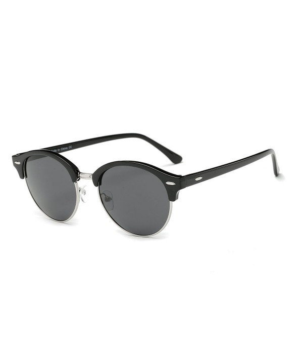 Cramilo Designer Inspired Semi Rimless Sunglasses