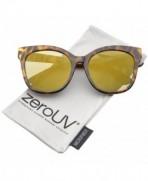 zeroUV Womens Oversize Sunglasses Tortoise