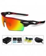 COSVER Polarized Sunglasses Interchangeable Multicoloured