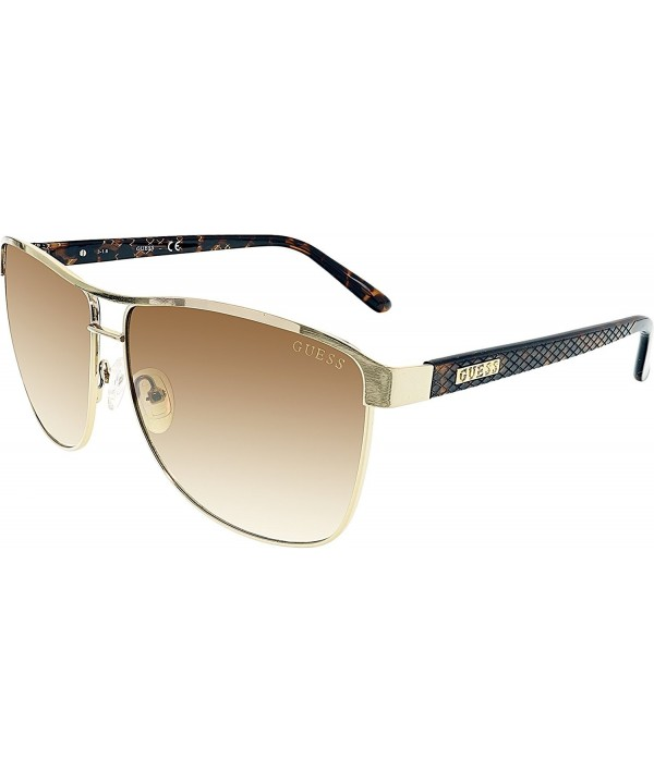 Womens Gradient GUF255 GLD 34 Aviator Sunglasses