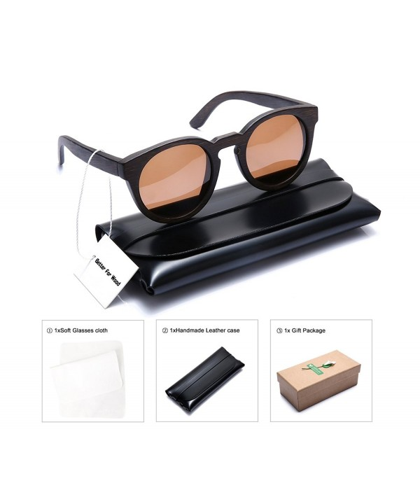 Better Wood Bamboo Cateye Sunglasses
