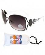 Style Vault Sunglasses Gunmetal Zebra Smoked