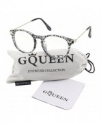 GQUEEN 201588 Fashion Keyhole Glasses
