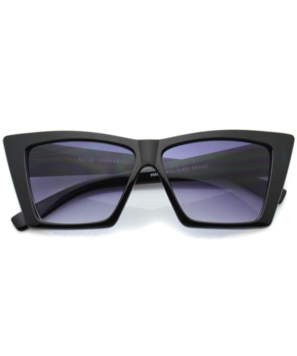 Pointed Sunglasses Geometric Square Cateyes
