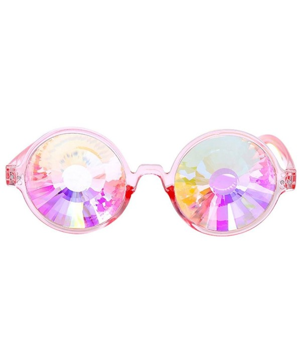 Sunglasses Lotus flower Kaleidoscope Festival Diffracted