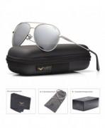 LUENX Sunglasses Polarized Mirrored Accessories