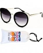 V3030 vp Style Vault Sunglasses Silver Smoked