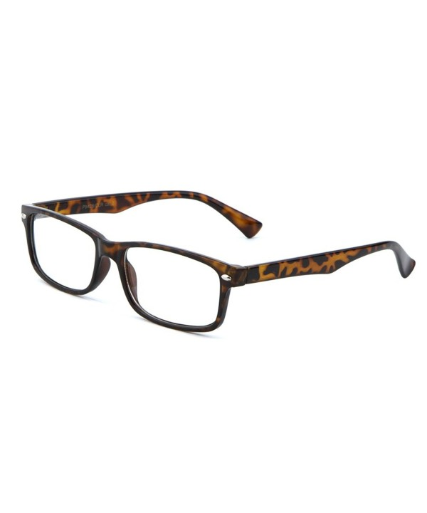 MJ Eyewear Fashion Rectangular TORTOISE