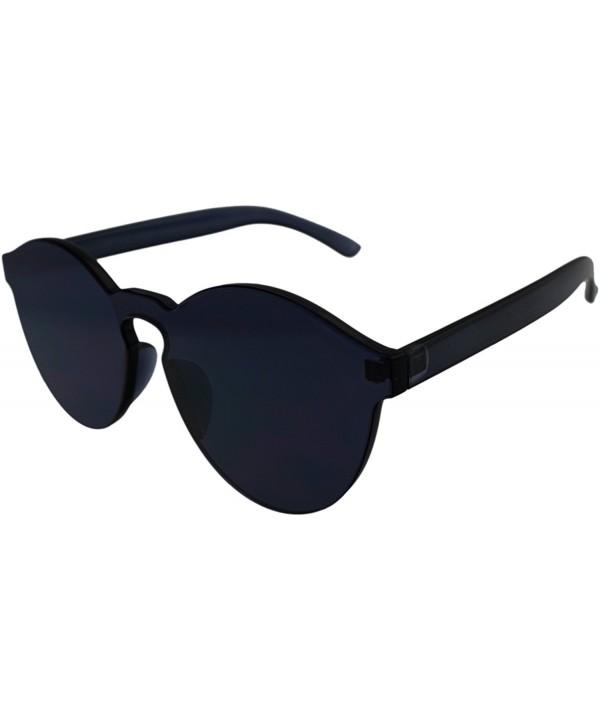 Glasses Transparent Rimless Ultra Bold sunglasses