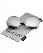zeroUV Oversize Rimmed Colored Sunglasses