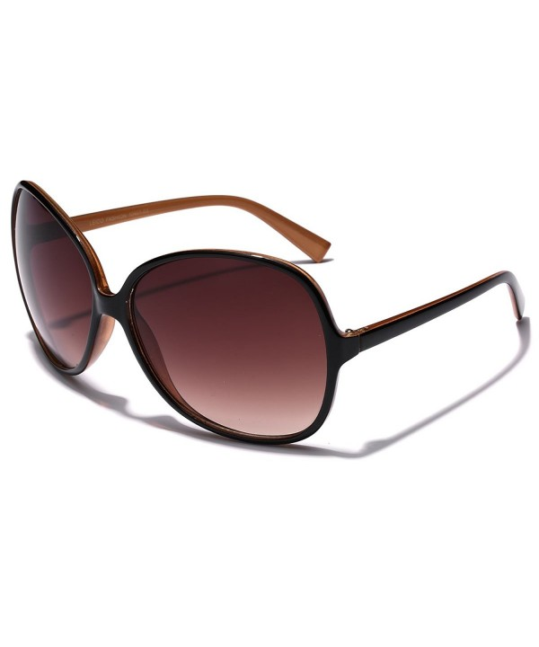 Oversized Round Womens Celebrity Sunglasses