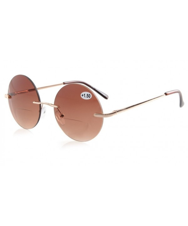 Eyekepper Readers Spring Hinges Rimless Sunglasses
