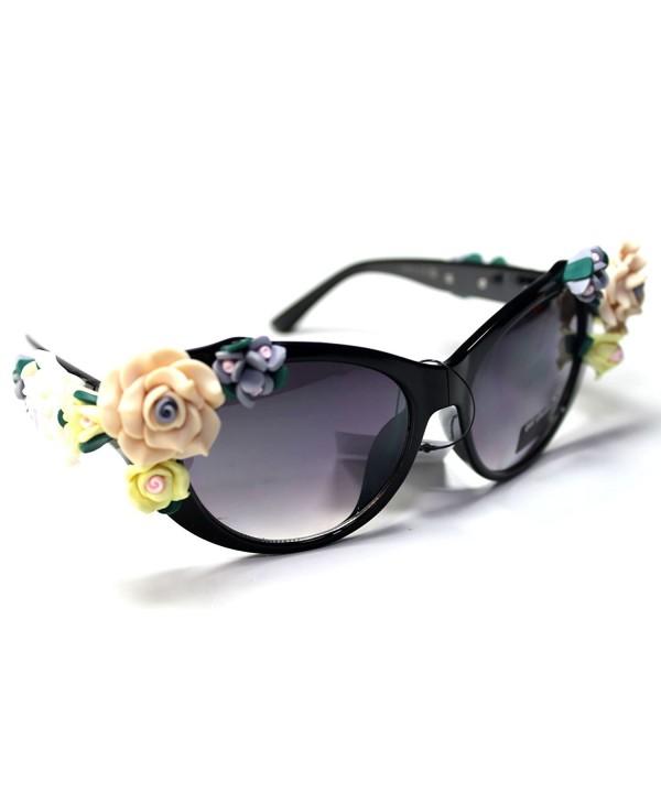 Sonic23 S1 Eyewear Floral Flowers Sunglasses