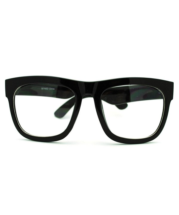 Oversized Square Glasses Fashion Eyewear