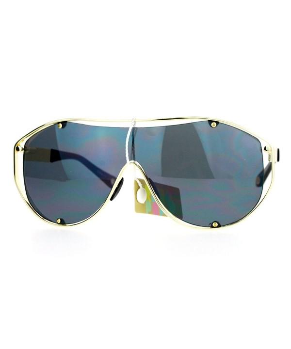 Aviator Sunglasses Fashion Futuristic Oversized