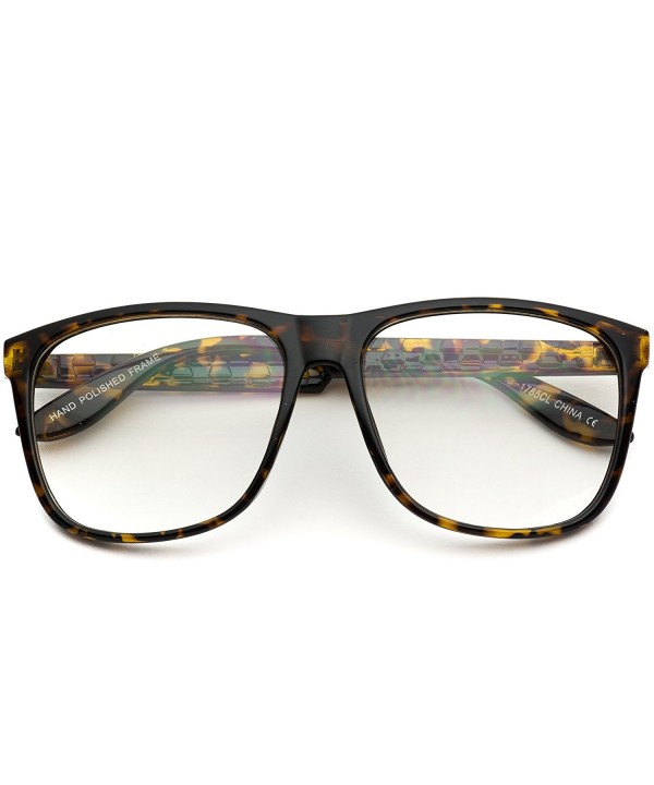 Oversized Square Vintage Inspired Eyeglasses