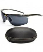 X384 cc Xsportz Rimless Sunglasses Gunmetal Dark