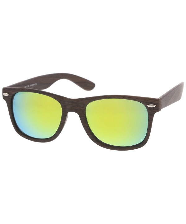 zeroUV Classic Printed Colored Sunglasses