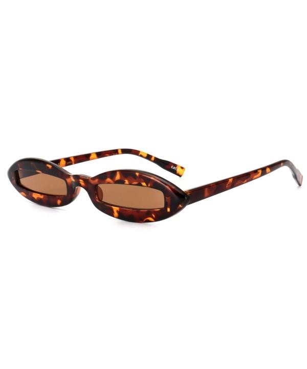 ROYAL GIRL Sunglasses Designer Leopard Brown