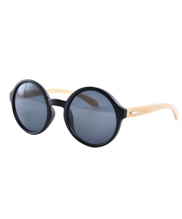 Agstum Fashion Bamboo Glasses Sunglasses