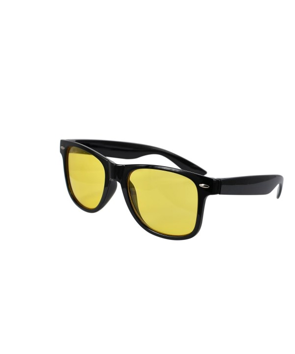 Unisex Wayfarer Plastic Vision Sunglasses
