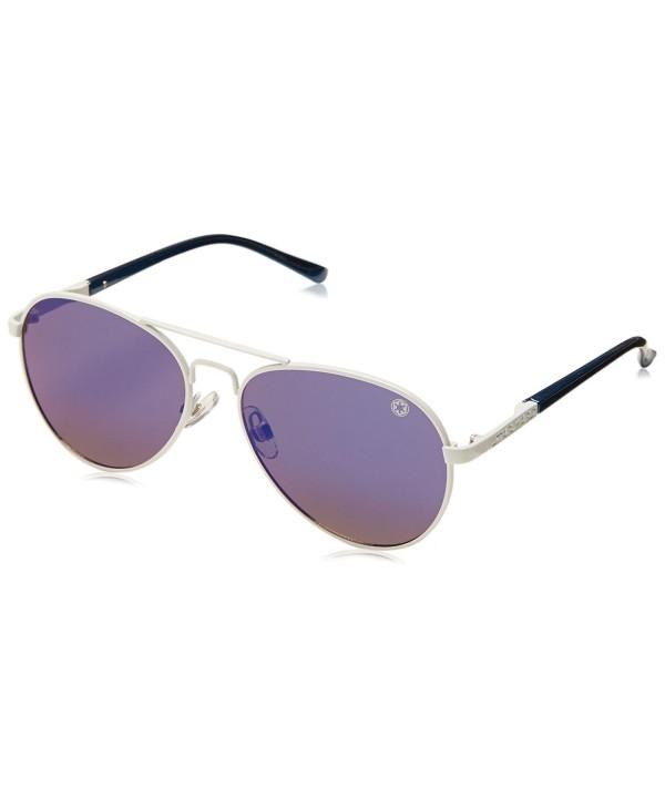 Aviator Sunglasses Silver Foster Grant