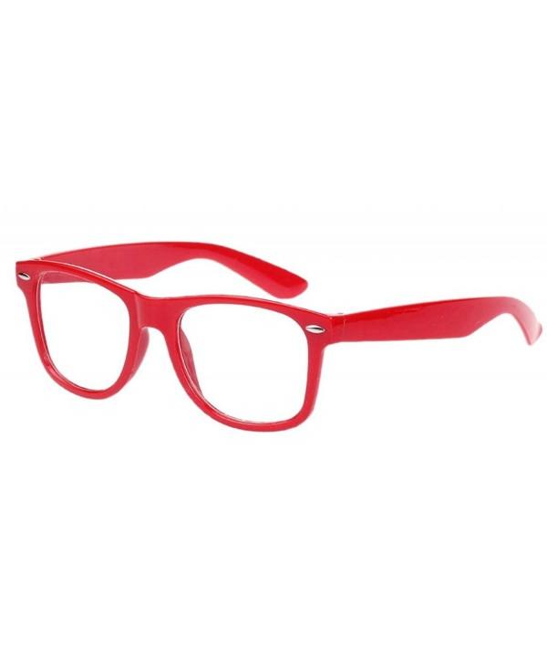 Bigood Vintage Wayfarer Trendy Glasses