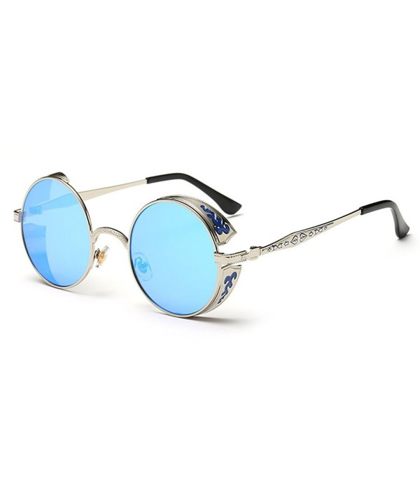 Sunshine Flowers Pattern Reflective Sunglasses
