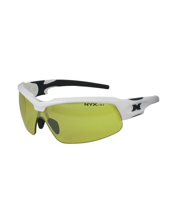 NYX Vision Sunglass White Black Luminator