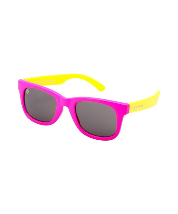Neon Pink Frame Yellow Temple